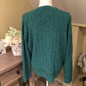 Woolrich Sweaters - Woolrich Green V-Neck Sweater